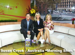 "Susan Crook Australia ""Morning Show"""